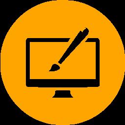 website-design-brush